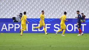 1-1, Francia se estrella ante la sólida defensa de Ucrania