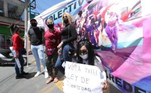 Integrantes de colectivos transgénero se unirán a huelga de hambre