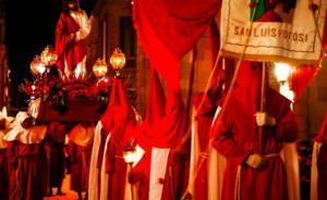Procesión del Silencio de SLP, importe en México en Semana Santa