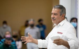 Raúl Morón impugnará retiro de candidatura