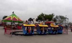 Autoridadesabrieron ladiversión alos niños en Frontera