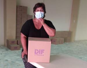 Despensas saludables a personas vulnerables