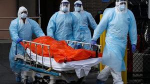Concentra primer trimestre del año 37% de muertes por COVID-19