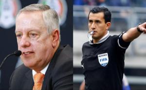 Presentan a Enrique Osses como director del arbitraje en la Liga MX