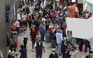 Registra AICM aglomeraciones por Semana Santa; refuerzan medidas