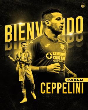 Pablo Ceppelini fuera de Cruz Azul; va al Peñarol de Urugay