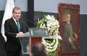Celebran en palacio 108 Aniversario del Plan de Guadalupe