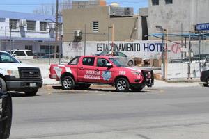 Fortalecen operativos las corporaciones policiacas en Monclova