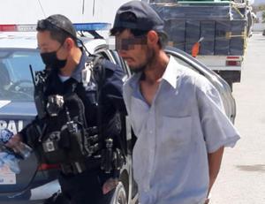 Aseguran a supuesto pistolero en la zona hotelera de Monclova