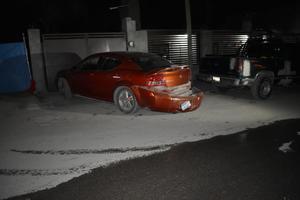 Cafre desgracia dos vehículos en Monclova
