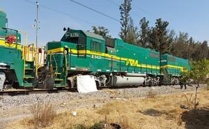 Muere hombre arrollado por un tren en Neza