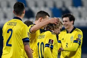 0-3. Suecia refuerza su liderato con una plácida victoria en Pristina