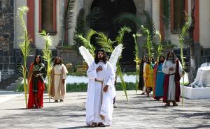 Domingo de Ramos 'virtual' en Iztapalapa deja saldo blanco