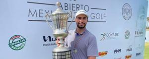Ortiz gana Abierto Mexicano de Golf