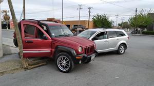 Fuerte accidente sobre el bulevar Juárez de Monclova