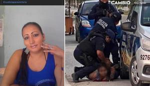 Quién era Victoria, la mujer asesinada por policías en Tulum