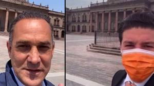 Samuel García presume que Palacio de Nuevo León será su oficina