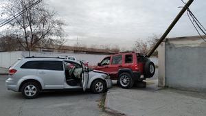Fuerte accidente en el Juárez de Monclova