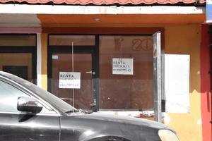 Negocios siguen a la baja en Monclova