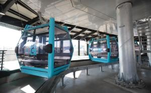 Sheinbaum supervisa pruebas en vacío en Línea 2 del Cablebús