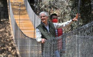 Entrega Del Mazo modernización del Parque Ecológico Xocotépetl