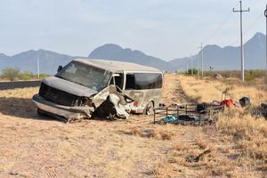 Muere en brutal encontronazo en carretera Saltillo-Monclova