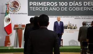 'México progresa con paz y justicia', destaca AMLO en informe