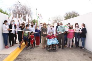 Rehabilitación de callebeneficia a 20 familias