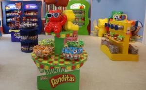 'Etiquetado no afecta Paleta Payaso, Panditas o juguetes dentro'