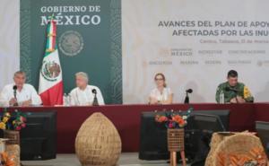 AMLO ordena a CFE activar hidroeléctricas del sureste