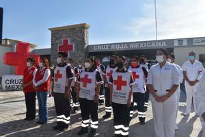 Atiende cruz roja de Coahuila más de 40 mil consultas