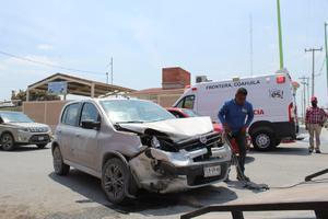 Protección Civil de Frontera los abandona lesionados