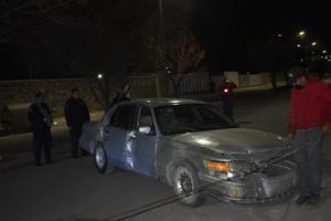 Ebrio al volante causa destrozos en el Fraccionamiento Monclova