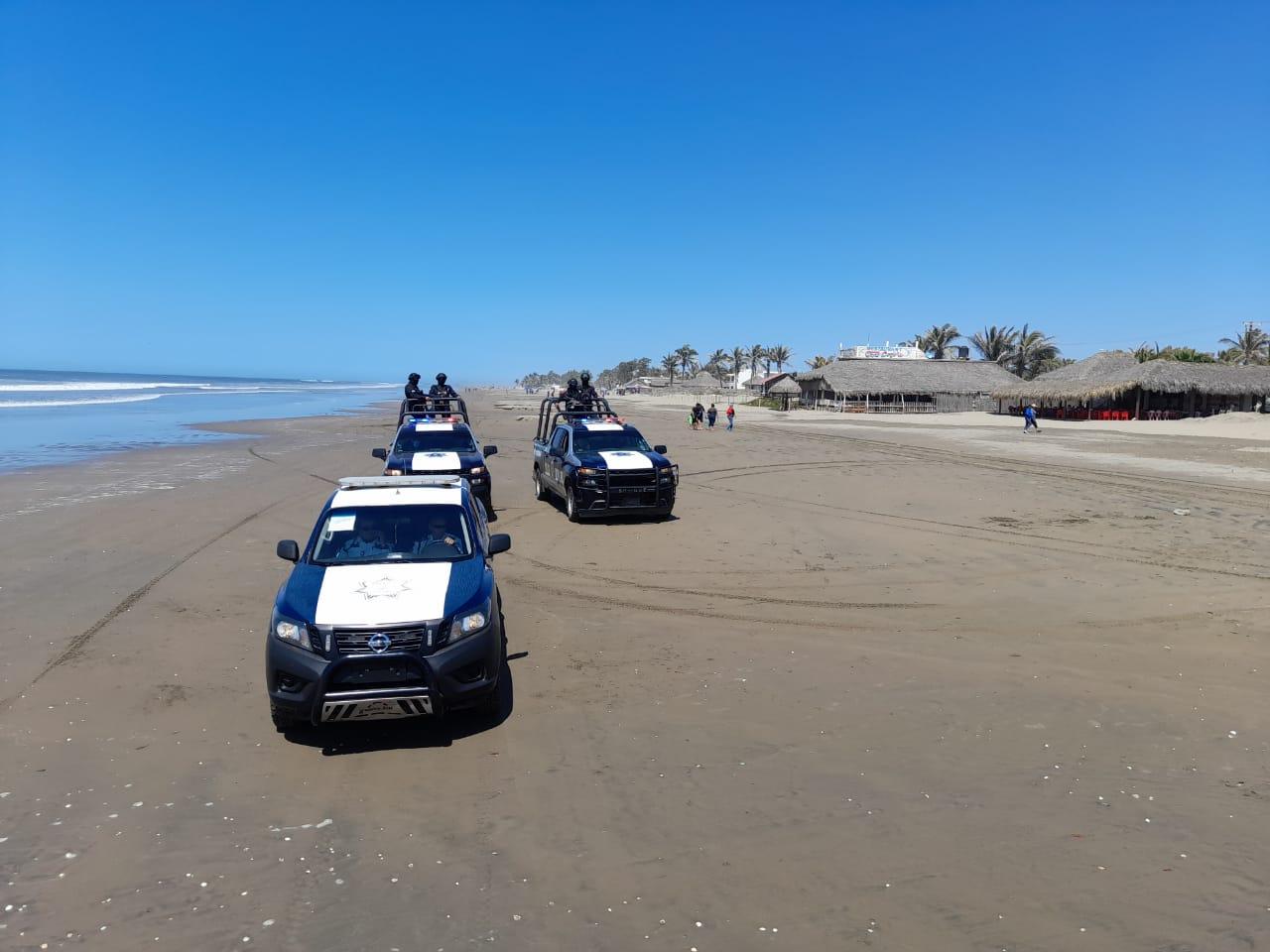 Prohíben entrar a playas de Guasave por el fenómeno de Mar de Fondo