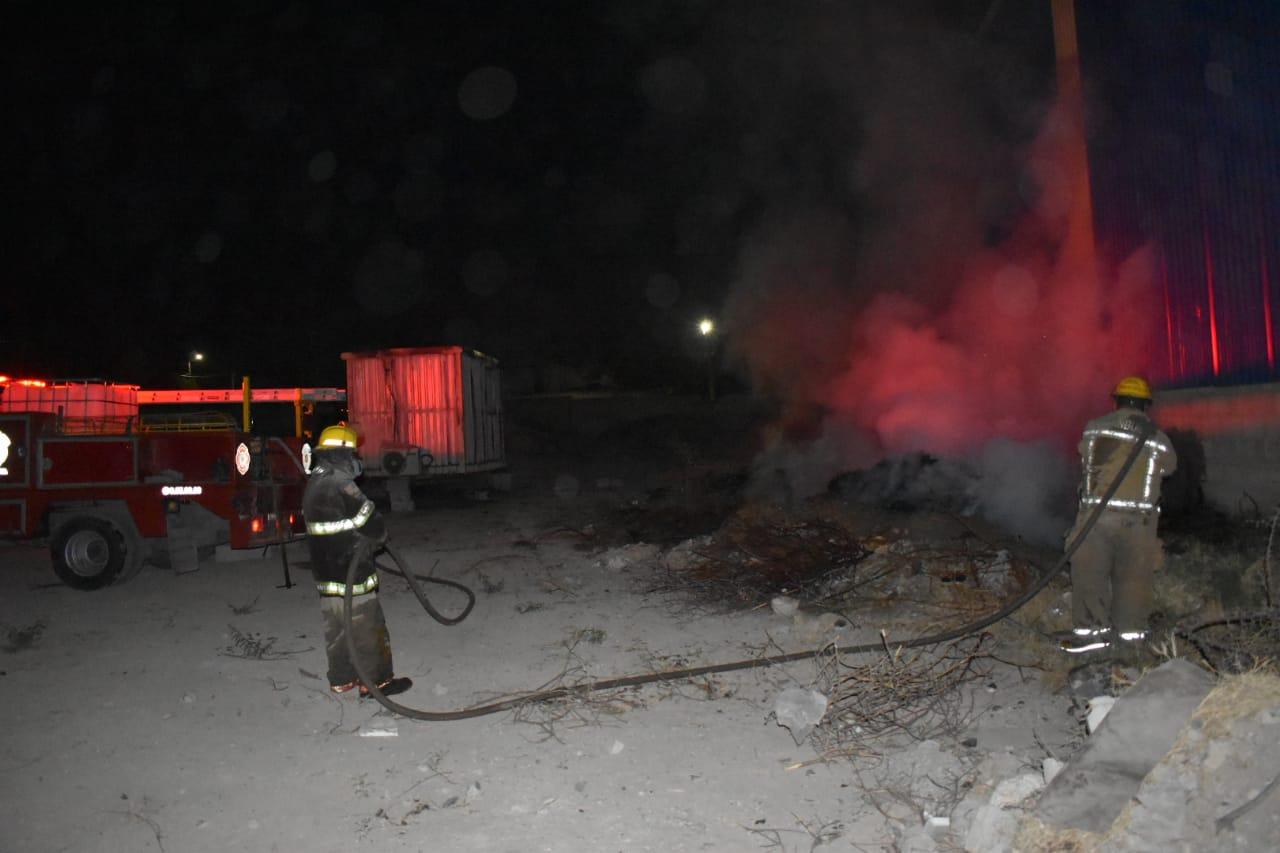 Incendian taller en Monclova