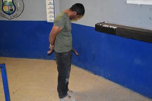 """Sujeto en Monclova aseguraba ser """"gatillero"""""""
