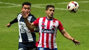 El Rayados vs Atlético de San Luis finaliza en bronca