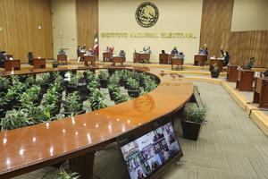 Aprueba INE candidaturas a diputaciones federales