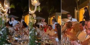 Enrique Peña Nieto reaparece en boda en República Dominicana