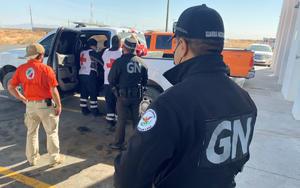 Rescatan a migrante que se extravió en desierto de Chihuahua