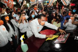 Sin sana distancia, arrancan campañas en Sinaloa