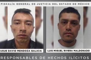Dan 50 años de prisión a dos secuestradores en Edomex