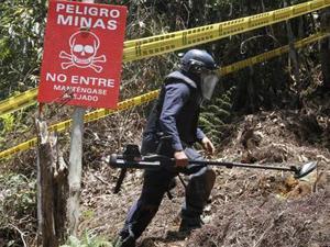Minas antipersona dejan 104 víctimas en Colombia en primer trimestre de 2021