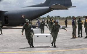 Llegan a Yucatán 144 mil 760 vacunas contra Covid