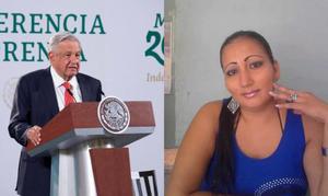 AMLO: Se procede legalmente en caso de Victoria Salazar