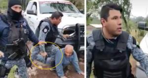 Se investigará caso de abuso policiaco contra adulto mayor en Puebla