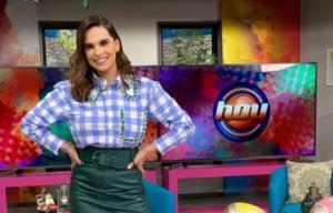 Tania Rincón reemplazará a Andrea Legarreta en 'Hoy'