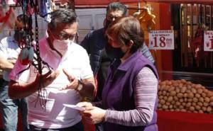 Candidato a alcaldía de Cuajimalpa promete servicio para todos