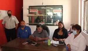 Se desmorona Morena de Frontera; no están de acuerdo con su candidato