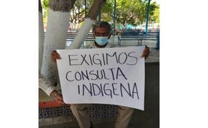 Pobladores de Mixtequilla exigen información sobre proyecto minero